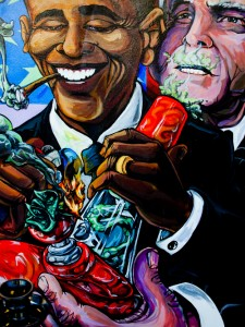 President Obama, George Bush, and Bill Clinton are all admitted weed users.